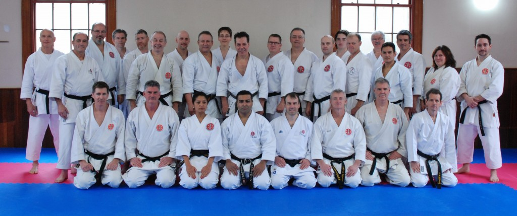Shitoryu Karate Canada Black Belts Seminars - Windsor Nova Scotia 2014
