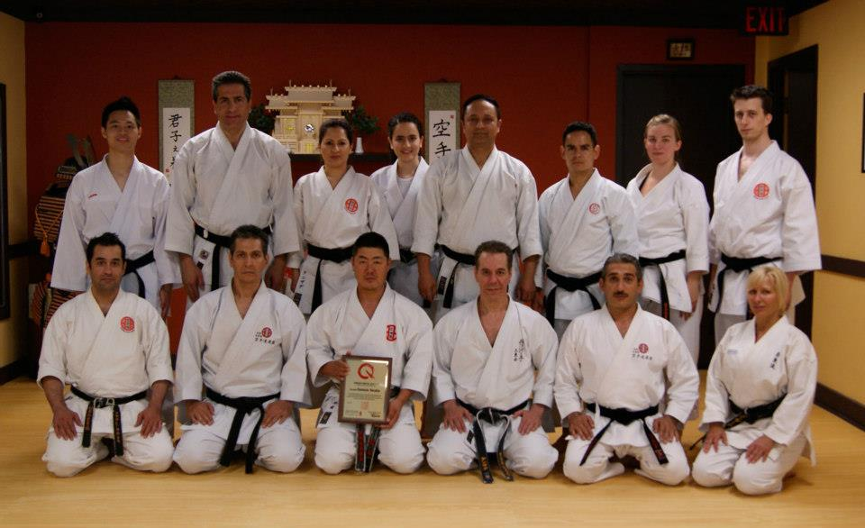 Iwata Sensei Seminar May 2012 - Group Photo at SKC Honbu Dojo