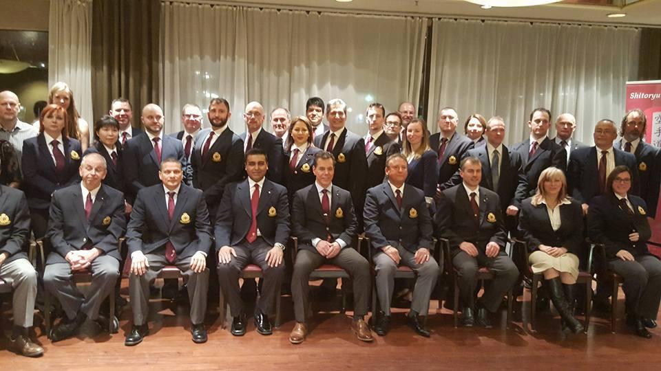 Shitoryu Karate Canada Directors Meeting Banquet Dinner 2016 - Mississauga Ontario