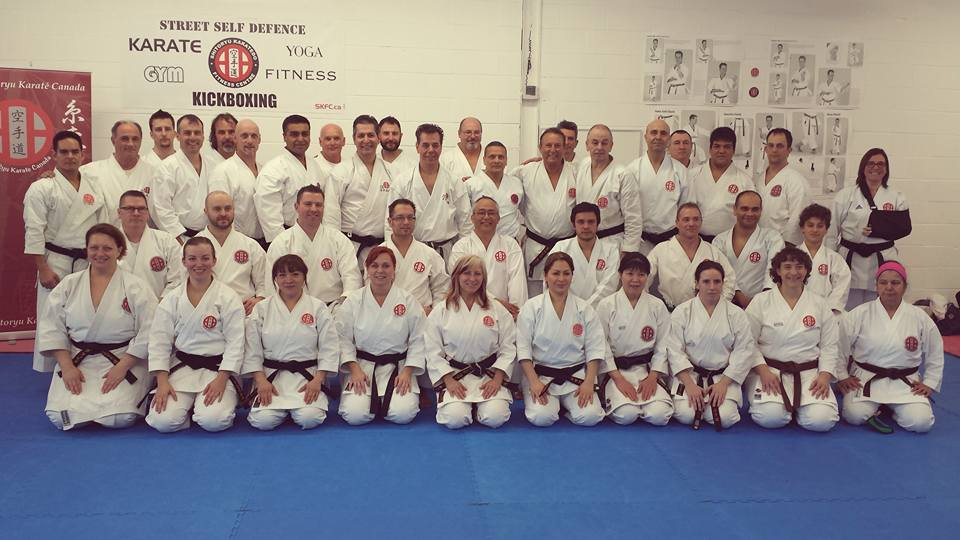 Shitoryu Karate Canada Directors Technical Seminars 2016