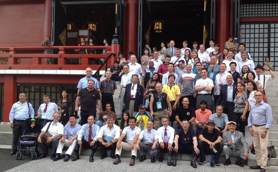 World Shitoryu Karate Executive Members and Affiliates