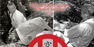 "Shitoryu Karate Quebec  Technical Seminars ""2014"""