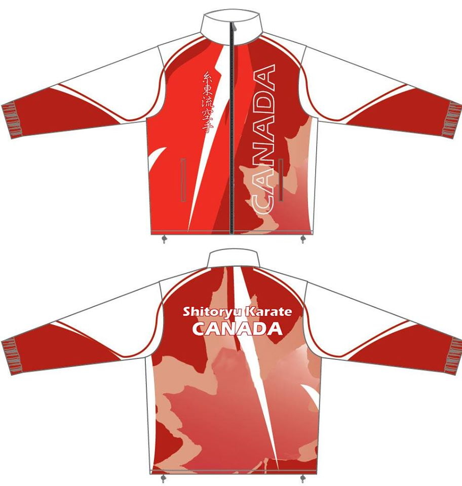 Shitoryu Karate Canada Official Tracksuit