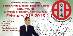 "SKC Special Karate judging ""Diploma Course"""