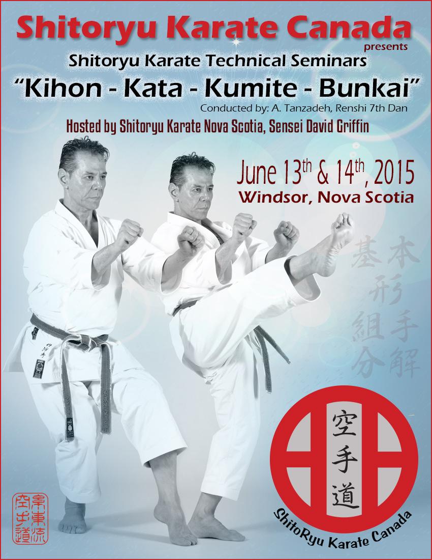 Shitoryu Karate Canada-Halifax-Seminar-June2015