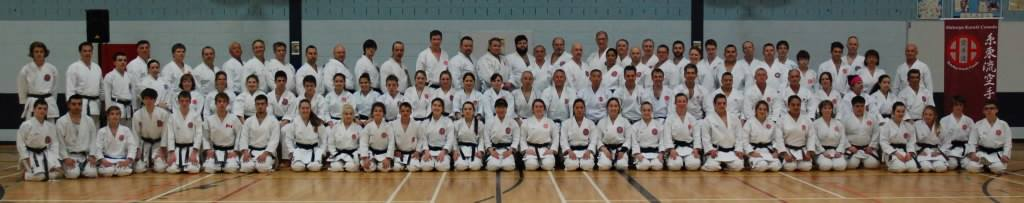 Shitoryu Karate Canada International Technical Seminar with Master Shoko Sato, May 2015 - Day 1