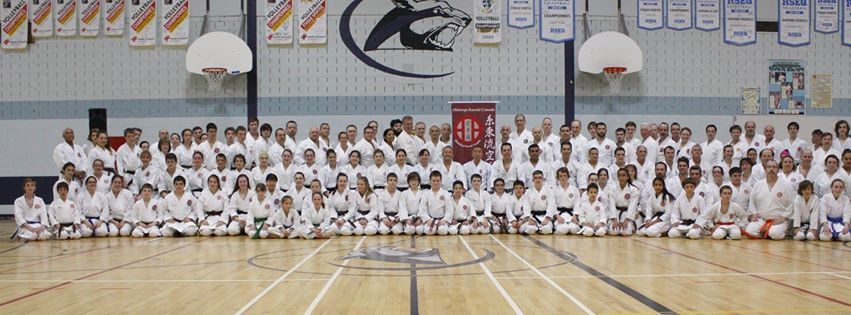 Shitoryu Karate Canada International Technical Seminar with Master Shoko Sato, May 2015 - Day 2