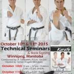 Shitoryu Karate Seminar by Renshi Tanzadeh - Winnipeg