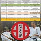 shitoryu karate quebec calendar 2015-2016