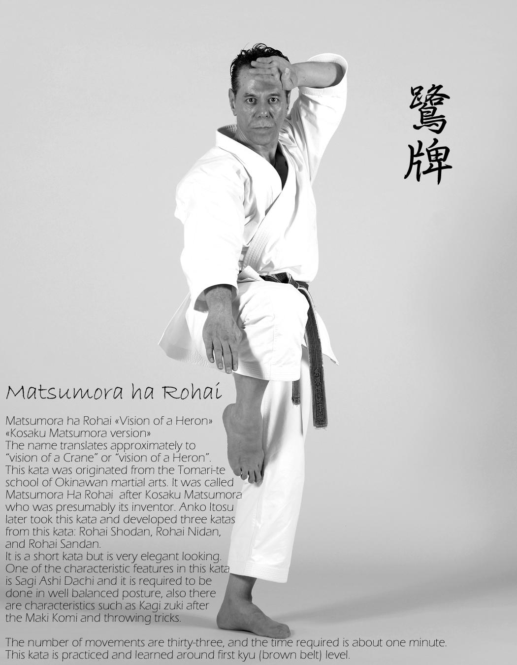 Renshi-Tanzadeh-performing-Matsumora-ha-Rohai-Kata