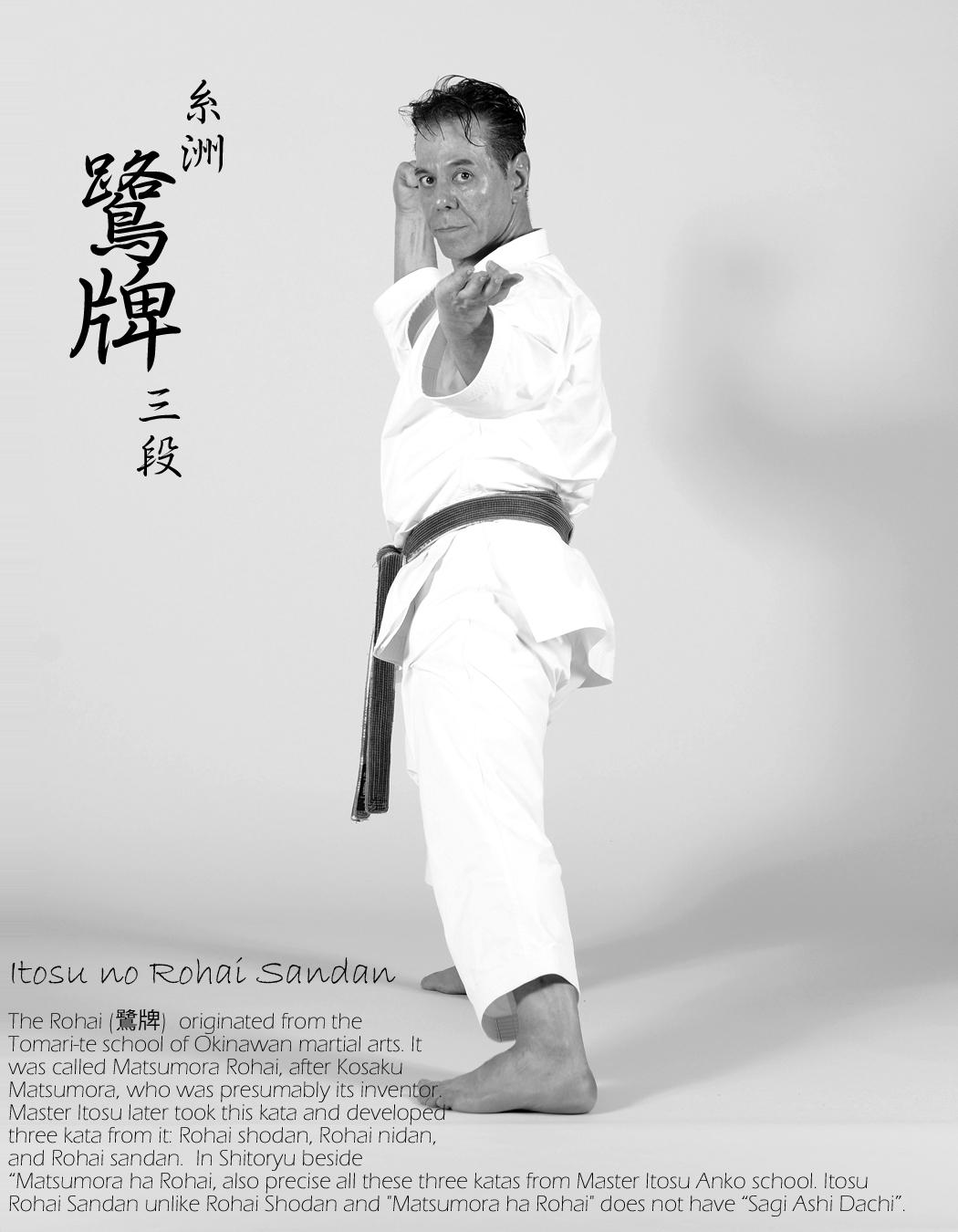 Sensei Tanzadeh Performing Itosu no Rohai Sandan