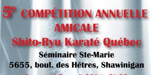 5e COMPÉTITION ANNUELLE AMICALE