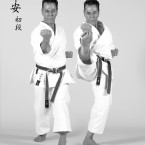 Sensei-Tanzadeh-performing-Heian-Shodan-Kata