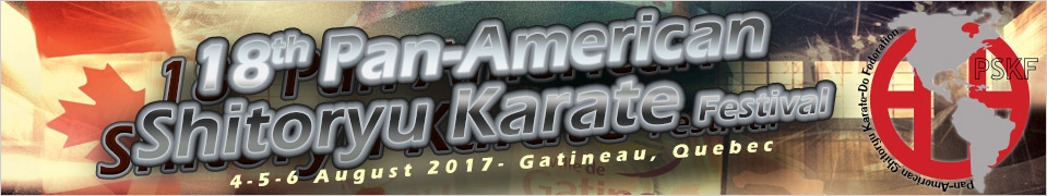 the 18th Pan-American Shitoryu Karate Championships - Canada 2017