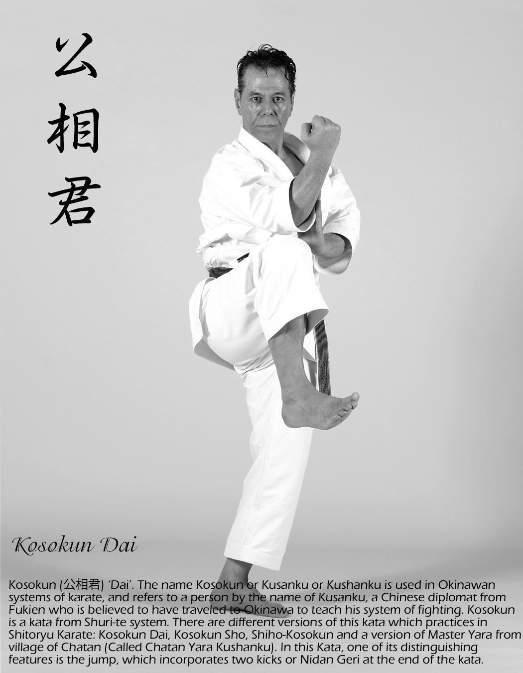 Tanzadeh Sensei Performing Kosokun Dai