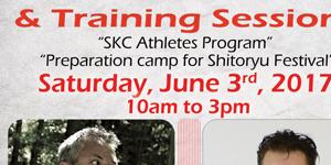 Training sessions Quebec June 3rd, 2017