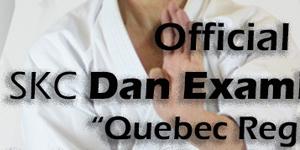 SKC Dan Examination, Quebec 2017